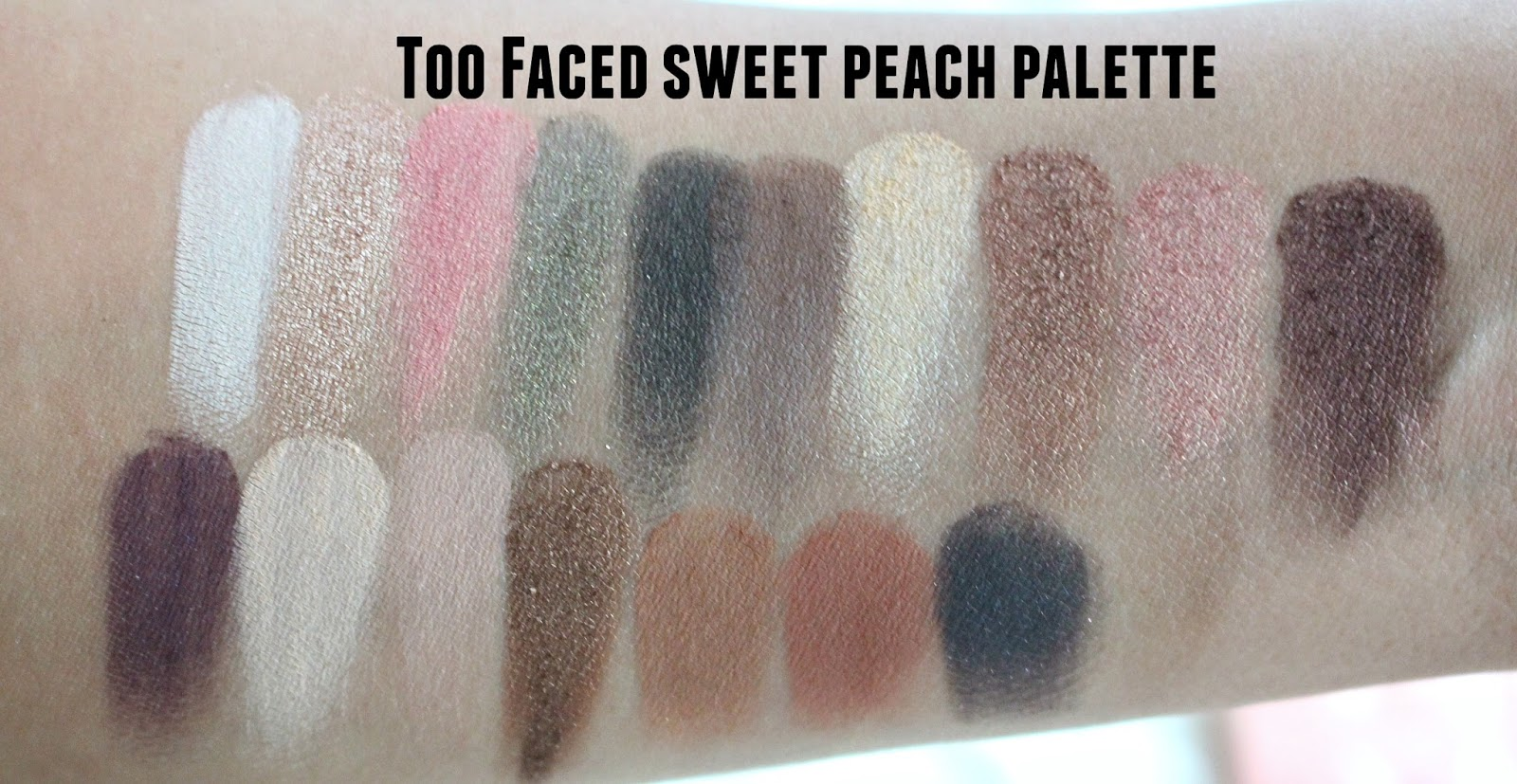 Sweet Peach Eye Shadow Palette by Too Faced #10