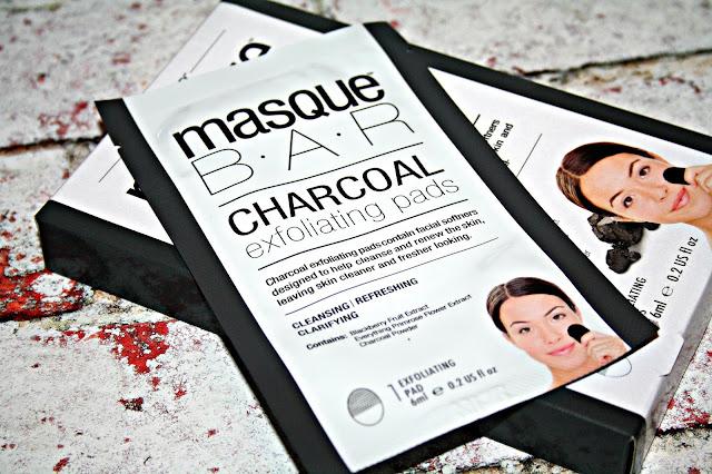 MasqueBAR Charcoal Exfoliating Pads