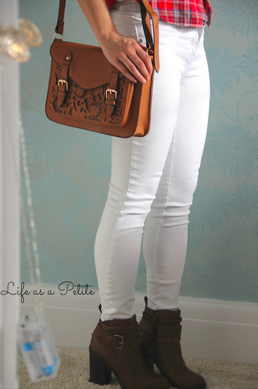 Petite White Jeans - Legends Jeans