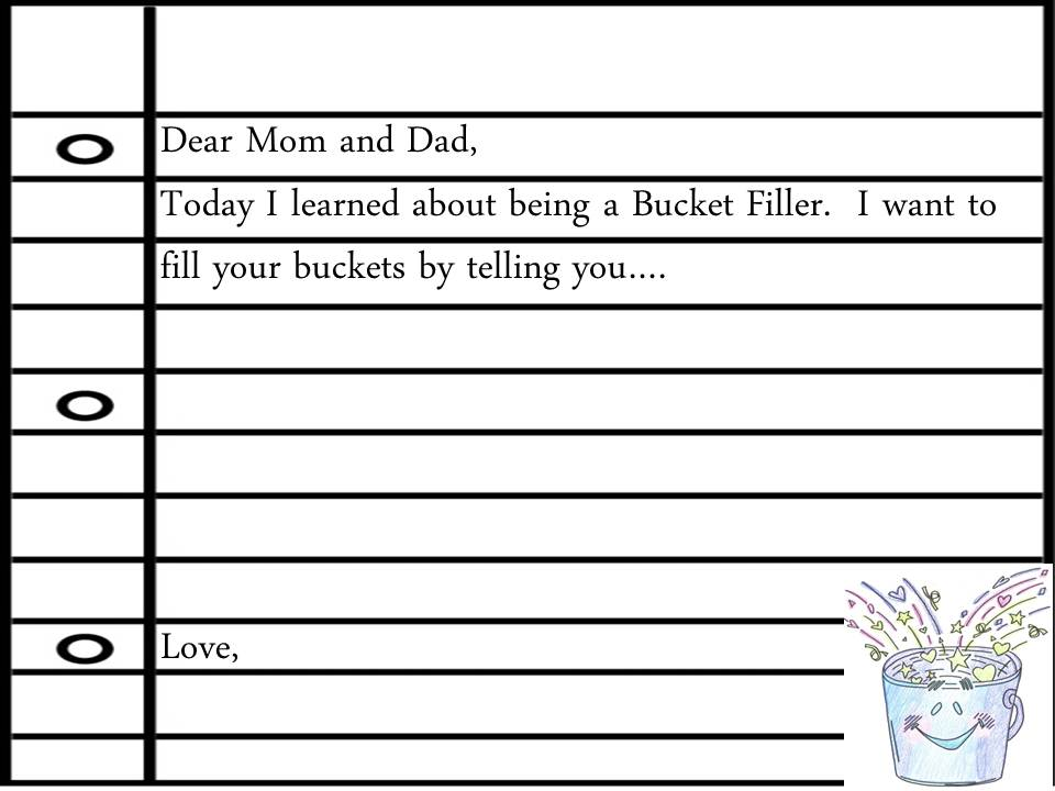 have you filled a bucket today coloring page - first grade 39 s a hoot 1b is filling buckets