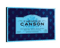 Papel Heritage de Canson grano torchon