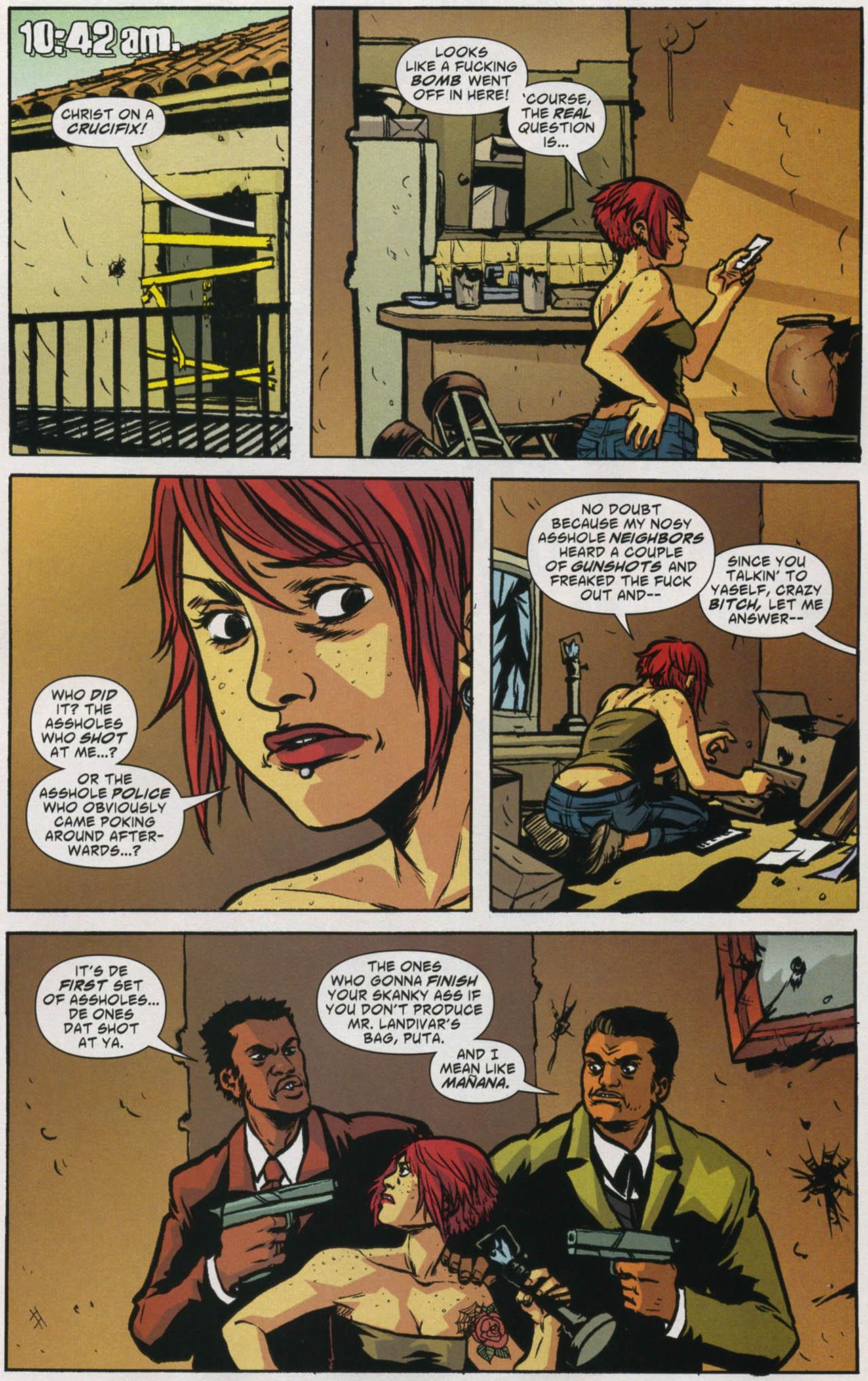 Read online American Virgin comic -  Issue #5 - 4