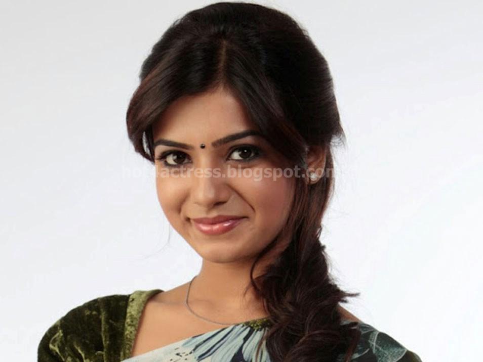 Hot samantha latest saree photos