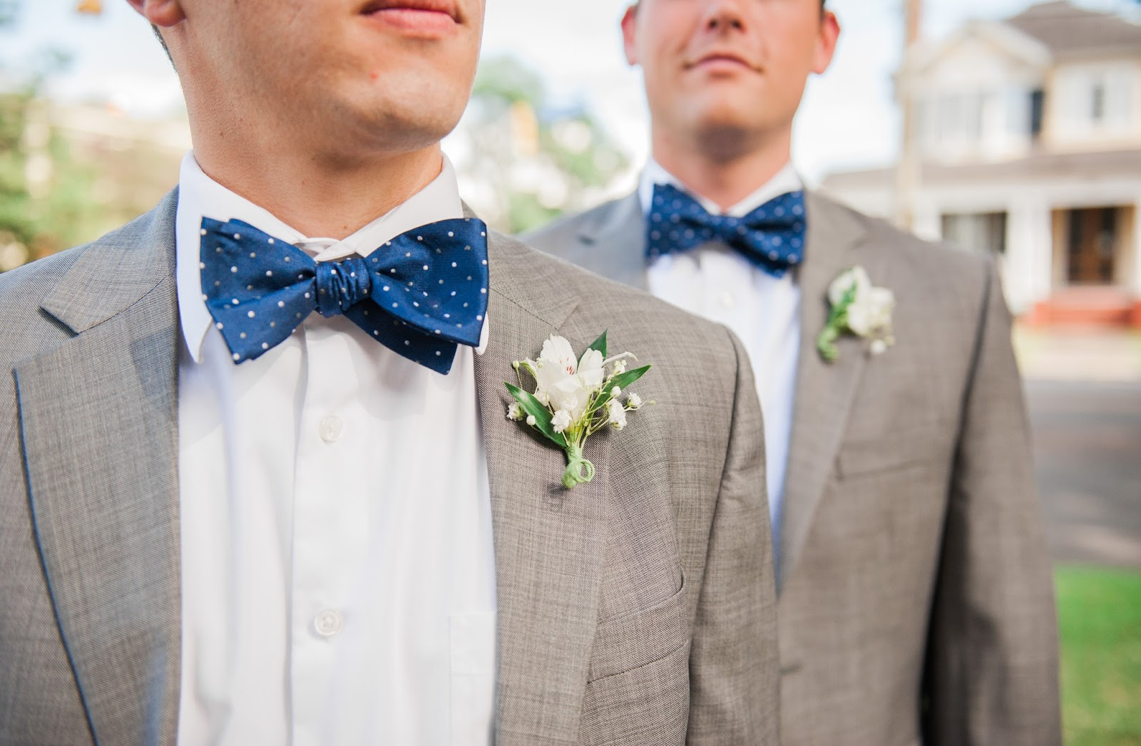 As I've Said Before, I Absolutely Loved The Fact That My Brother Had To  Wear A Polka Dotted Bowtie For Our Wedding But What I Didn't Tell You Is  This: