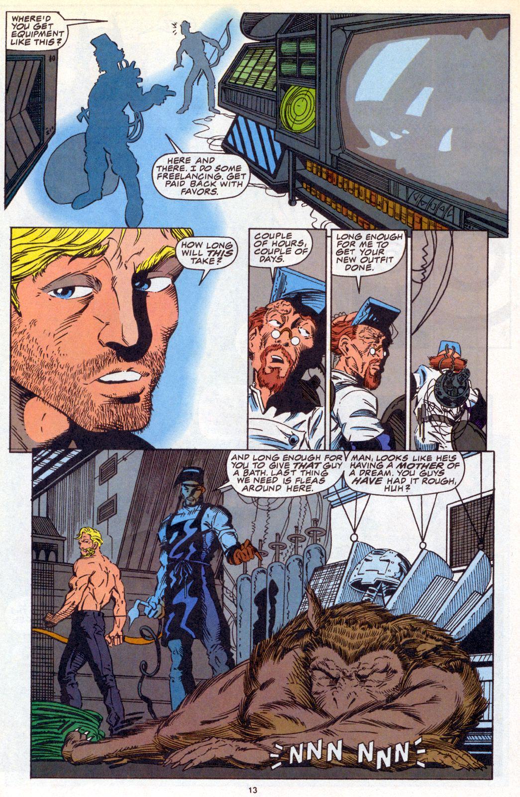Hawkeye (1994) Issue #3 #3 - English 9