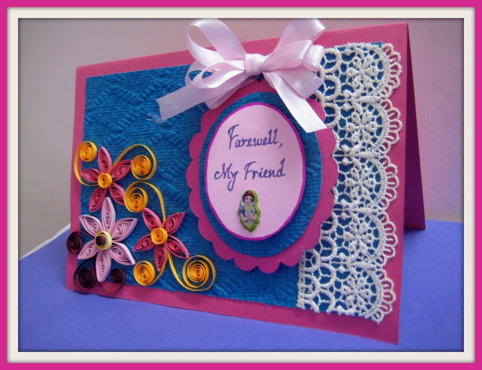 My Artbook: Farewell Card