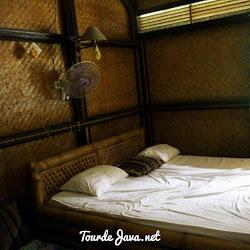 kamar di fauna resort pulau peucang
