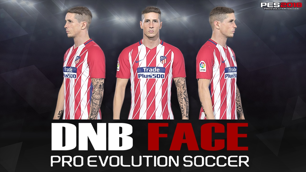 PES 2018 F. Torres Face by DNB FACE