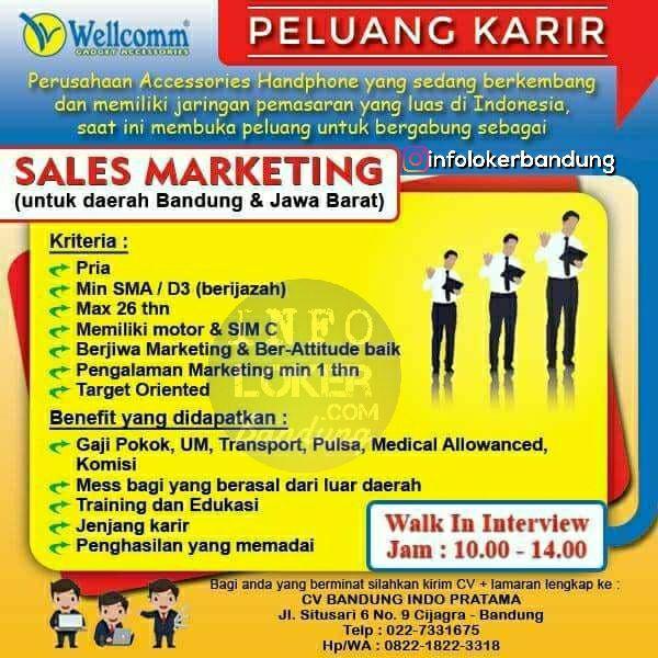 Lowongan Kerja CV. Bandung Indo Pratama Bandung Maret 2018
