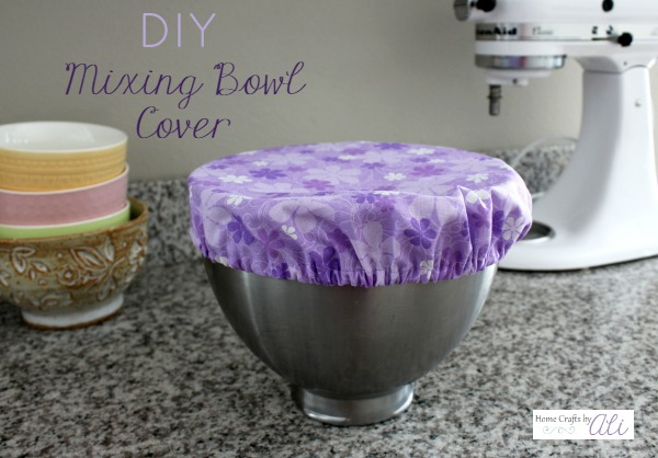 sewing tutorial mixing bowl cover kitchen aid DIY