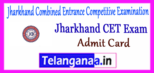 JCECE Jharkhand Combined Entrance Competitive Examination Admit Card 2018 Syllabus