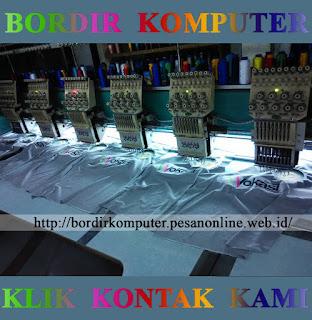 Jasa Bordir Komputer Murah Surabaya