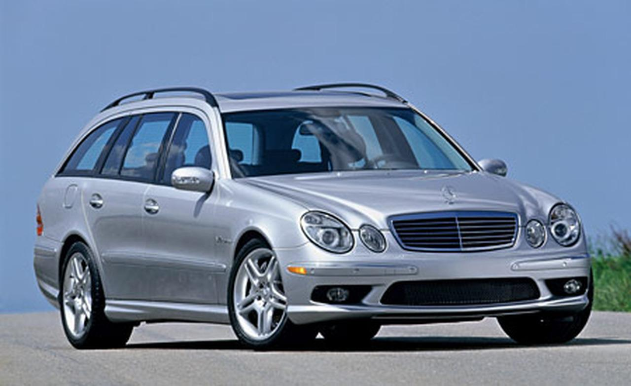 revolution 2005 2006 mercedes benz e55 amg w211 wagon. Black Bedroom Furniture Sets. Home Design Ideas