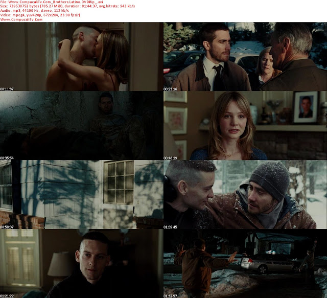 Hermanos [Brothers] (2009) BRRip HD 720p Latino Dual
