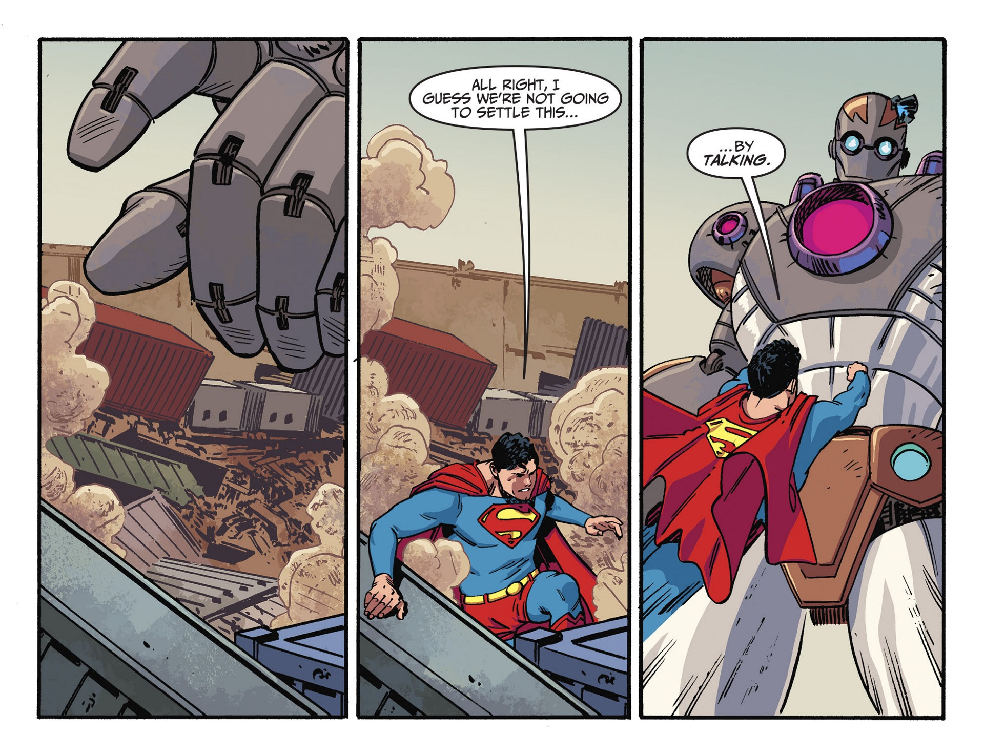 Read online Adventures of Superman [I] comic -  Issue #44 - 7