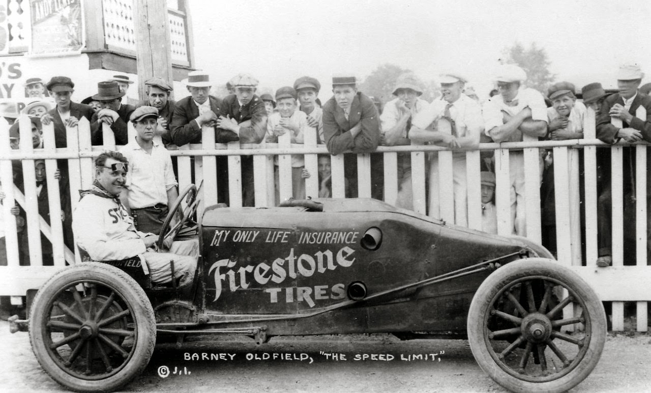 Just A Car Guy: Barney Oldfield, always on the publicity angle