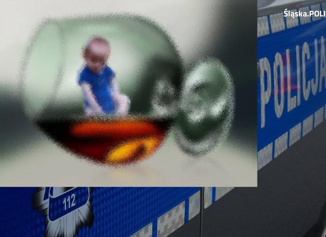 zdjęcie: policja/ Zareagował na płacz dziecka