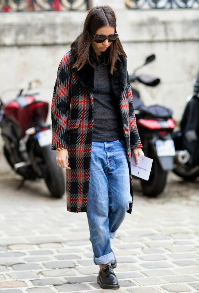 Paris Mens Fashion Week FallWinter 2015 Street Style  FRONT ROW