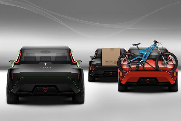tesla hatchback concept