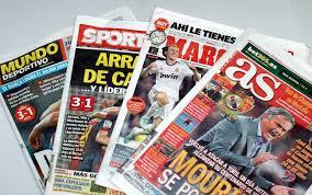 Las portadas de la prensa deportiva (28/03/2017)