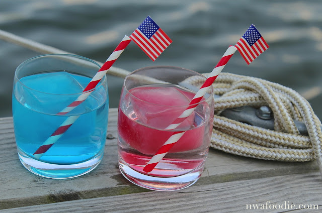 Mountain Valley Spring red white blue cocktail #AD main (c)nwafoodie