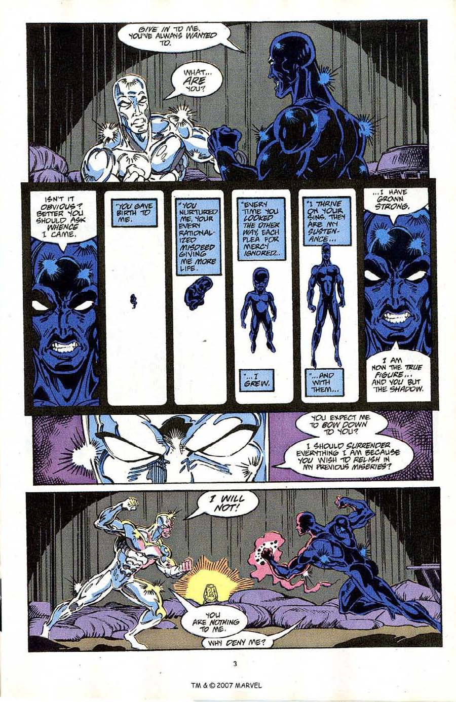 Read online Silver Surfer (1987) comic -  Issue #64 - 5