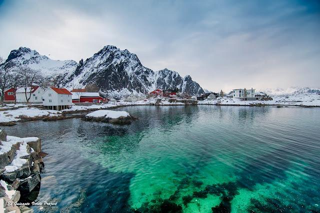 Lofoten, puerto de Svolvaer por El Guisante Verde Project