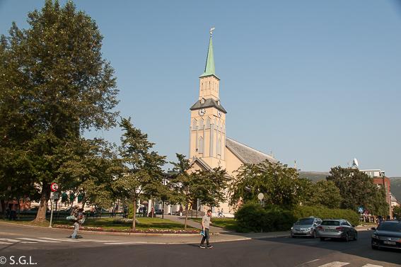 Catedral de Tromso. Noruega