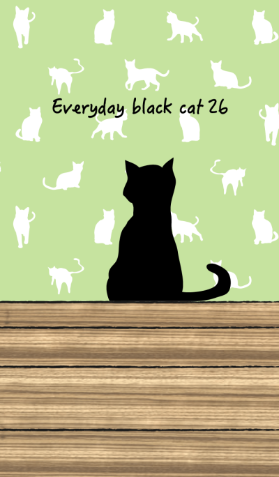 Everyday black cat26
