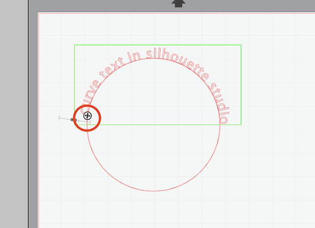 silhouette cameo beginner, silhouette tutorial, curve text cameo, curve text silhouette