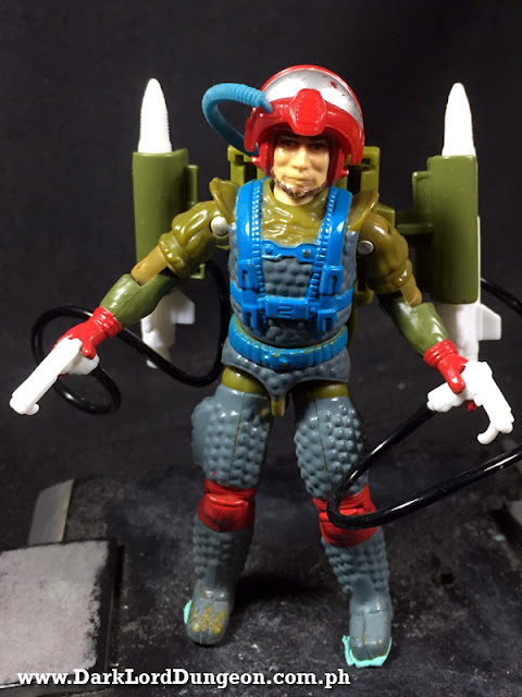 GI Joe Vintage Fast Draw Action Figure