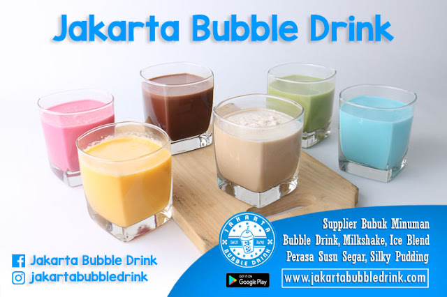 Bubuk Minuman Bubble Drink Powder Aneka Rasa