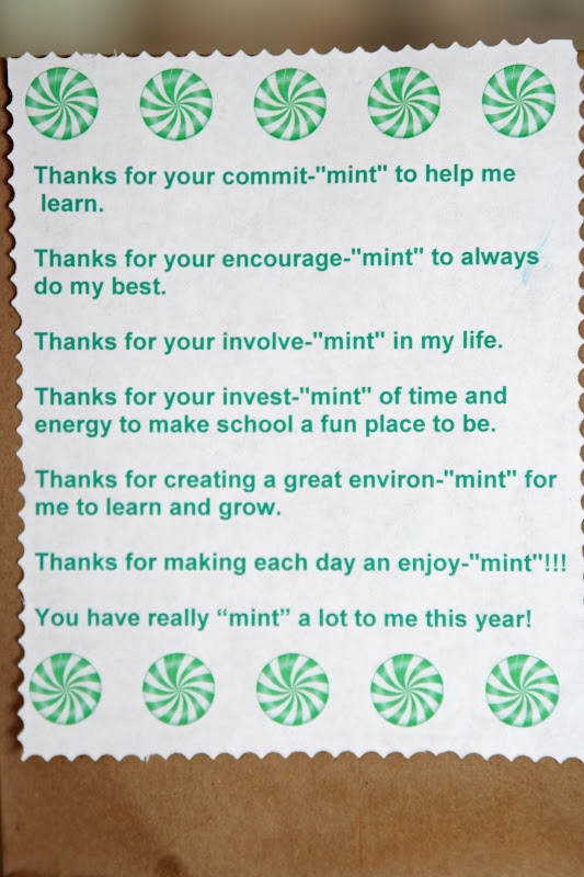 Your Mint Commit You School Thank Our