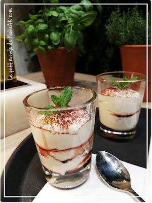 crème de mascarpone et de cerises Amarena