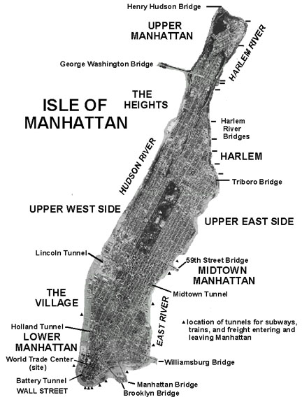 Origin and History of Manhattan
