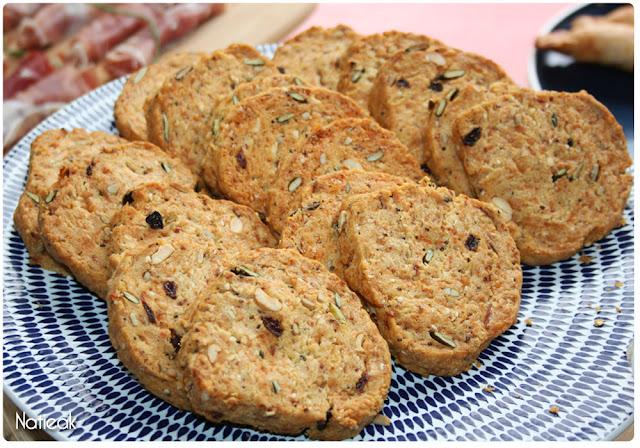 Cookies apéritif aux graines Le Sillon