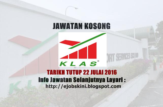 Jawatan Kosong di KL Airport Services Sdn Bhd (KLAS)