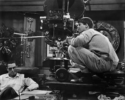 The Errand Boy detrás de las cámaras - 1961
