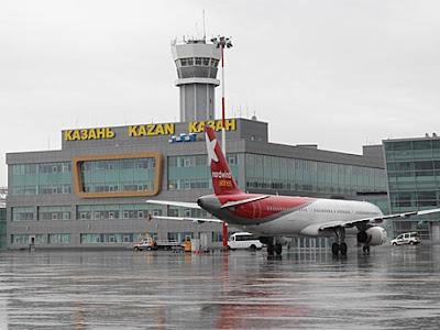"""مطار """"قازان"""" الدولى الروسى يخسر 12 مليون روبل بسبب إلغاء الرحلات لمصر Kazan"""