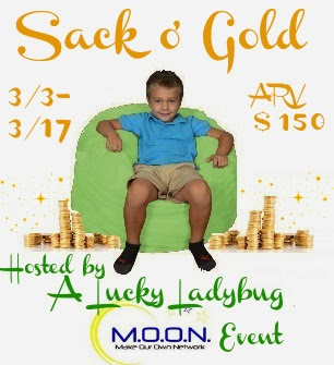 Enter the Sack o' Gold Giveaway. Ends 3/17.