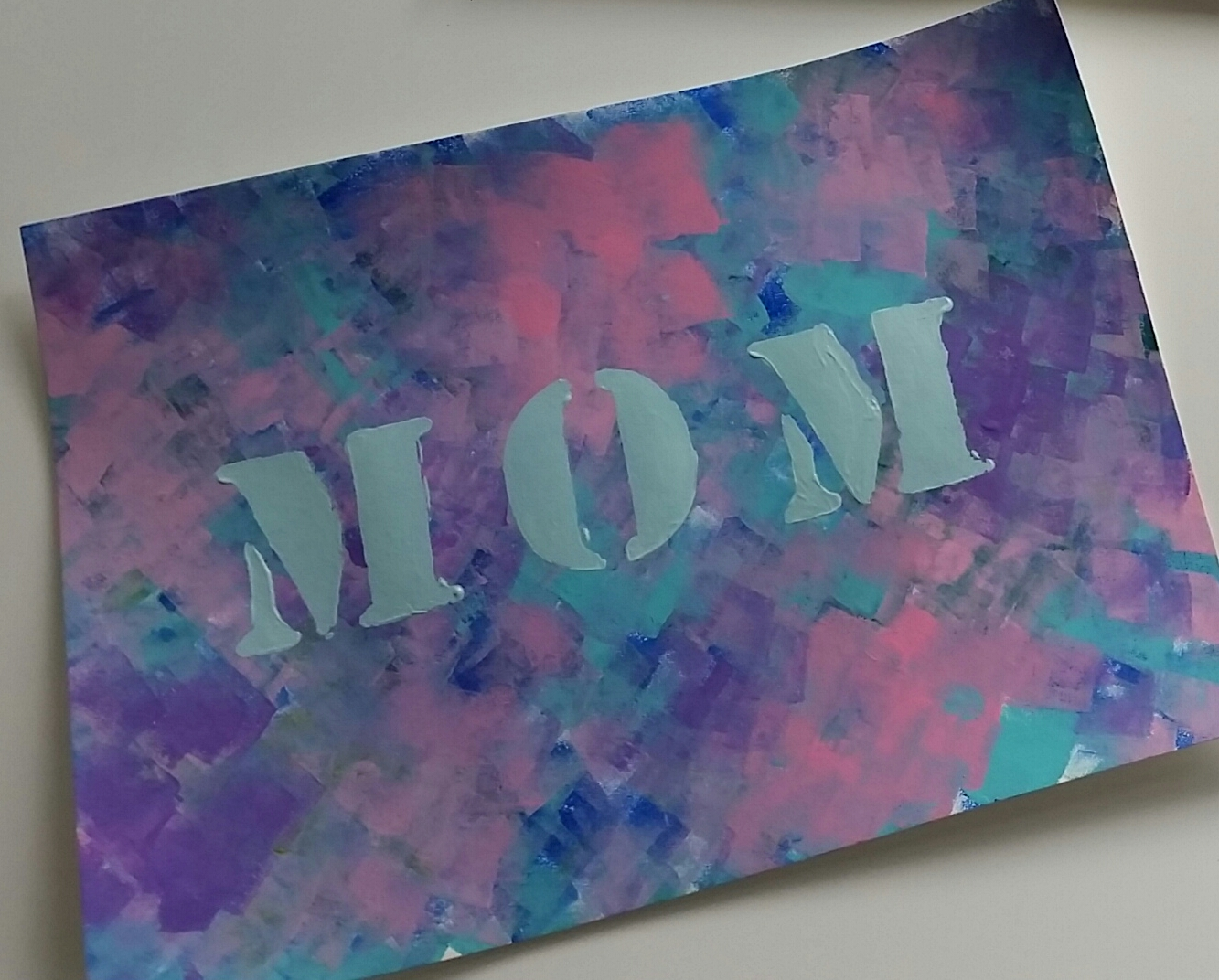 Starrjoy16 Mother S Day Craft Mom Canvas