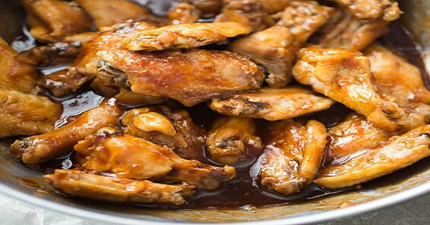 Sticky Stout Baked Chicken Wings Recipe