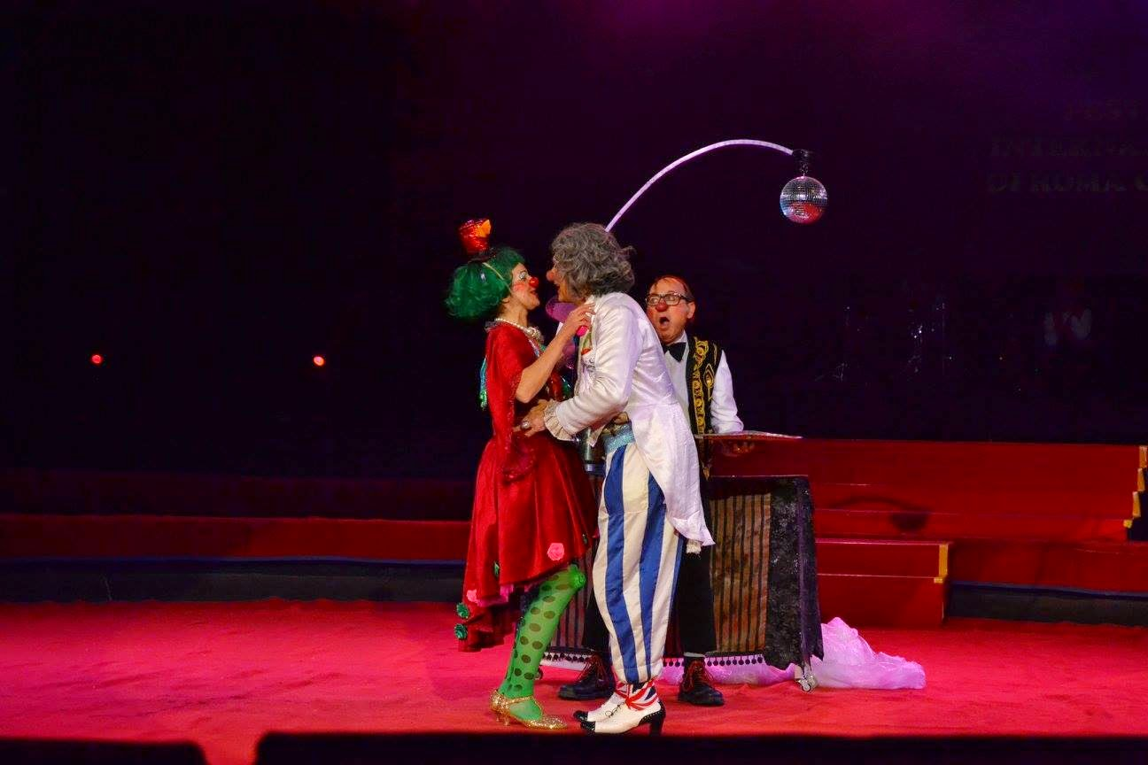Clown, circo, Golden Circus, Angosta Di Mente, Los Quixotes Brothers
