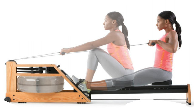 This rowing circuit proves you can get a serious calorie burn and build strength