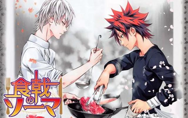 Download Kumpulan ANime Shokugeki no Souma Season 3 (Episode 01 – 12) Sub Indo