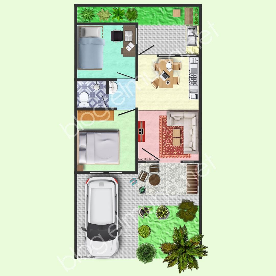 Ini Cara Saya Membuat Desain Denah Rumah Keren Menggunakan Photoshop Blog Elmuha