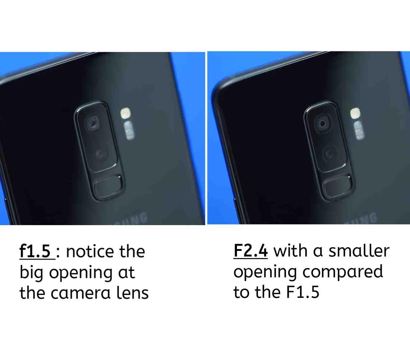 The Samsung Galaxy S9 Plus Dual Aperture