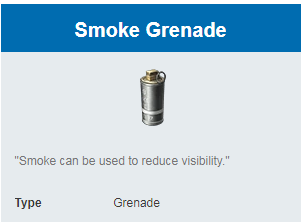 Deskripsi Grenades Smoke Grenade di Rules Of Survival