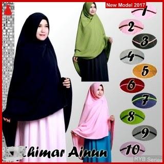 RYB008B Hijab jilbab Cantik Khimar Murah Ainun BMG Online Shop