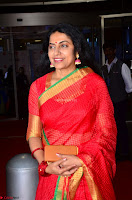 Suhasini in Designer dark Red Saree at 64th Jio Filmfare Awards South ~  Exclusive 003.JPG